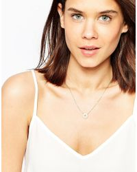 ASOS | Metallic Limited Edition Compass Necklace | Lyst