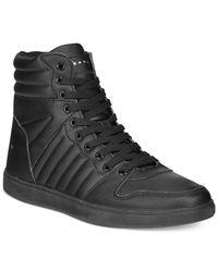 Sean John | Black Murano Hi-top Sneakers for Men | Lyst