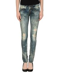 Miss Sixty | Blue Denim Pants | Lyst