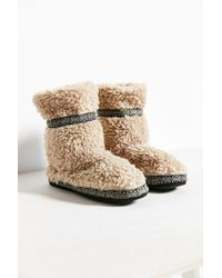Woolrich | Natural Whitecap Bootie Slipper | Lyst