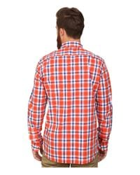 French Connection | Orange High Summer Check Shirt for Men | Lyst