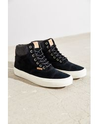 Vans - Black California Era Hi Sneaker - Lyst