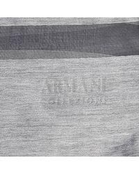 Armani | Gray Foulard | Lyst