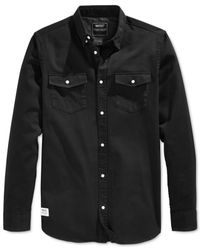 Wesc | Black Fakir Woven Shirt for Men | Lyst