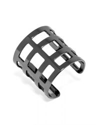 BaubleBar | Metallic Athena Grid Ring | Lyst