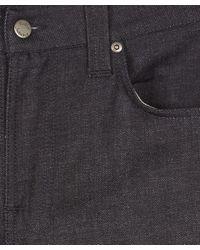 Nudie Jeans - Dark Blue Thin Finn Dry Deep Dark Jeans L30 for Men - Lyst