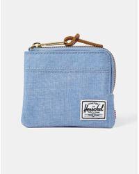 Herschel Supply Co. - Supply Co. Jonny Wallet With Zip -blue for Men - Lyst