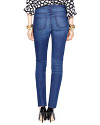 kate spade new york - Blue High Rise Jean - Lyst