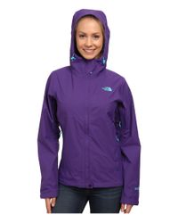 The North Face | Purple Dryzzle Jacket | Lyst