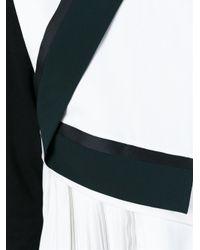 KENZO - White Flared Top - Lyst