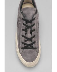 Converse - Gray X John Varvatos Chuck Taylor All Star Brushed Suede Men'S Sneaker for Men - Lyst