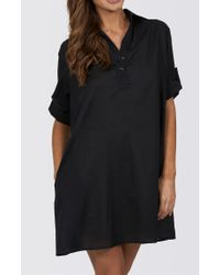 Jets by Jessika Allen | Black Classique Shirt Dress | Lyst