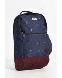 Vans - Blue Doren Ii Printed Backpack for Men - Lyst