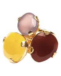 Wouters & Hendrix | Yellow Cocktail Stack Ring Set | Lyst