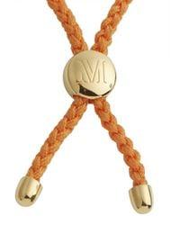 Monica Vinader | Metallic Fiji 18Kt Gold Plated Bracelet | Lyst