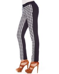 Michael Kors | Blue Michael Printed Skinny Pants | Lyst