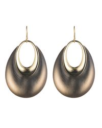 Alexis Bittar | Gray Orbital Dangling Hoop Wire Earring You Might Also Like | Lyst
