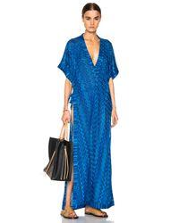 Missoni | Blue Maxi Caftan Dress | Lyst
