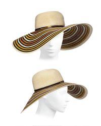 Eugenia Kim   Natural Bunny Wide-Brim Toyo Paper Hat   Lyst