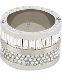 Michael Kors - Metallic Fulton Ring - For Women - Lyst