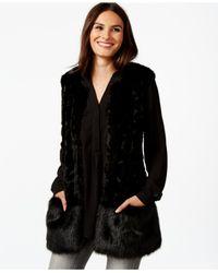 Robert Rodriguez | Black Kristen Faux-fur Vest | Lyst