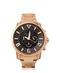 Tendence - Pink Bunker Rose Gold Watch for Men - Lyst