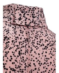 Dorothee Schumacher   Pink Sheer Chaos Blouse 1/1   Lyst