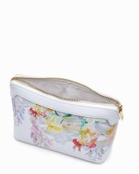 Ted Baker - Green Lonite Hanging Gardens Wash Bag - Lyst
