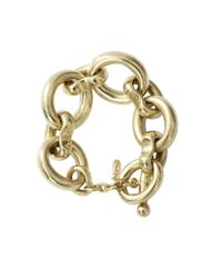 Vaubel | Metallic Large Link Oval Bracelet | Lyst