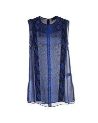 Proenza Schouler - Blue Top - Lyst