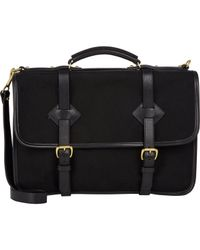 Lotuff Leather | Black English Briefcase for Men | Lyst