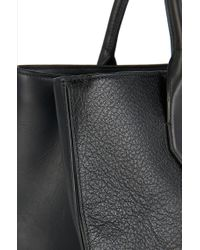 HUGO - Black Leather Shopper: 'darina-f' - Lyst