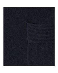 Jardin Des Orangers - Blue Wool And Cashmere Cardigan - Lyst