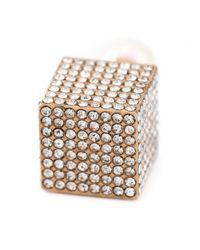 Vita Fede   Metallic Cube Earrings   Lyst