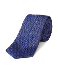 Simon Carter - Blue Patterned Tie for Men - Lyst