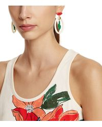 Tory Burch - Multicolor Sylvan Cactus Earring - Lyst