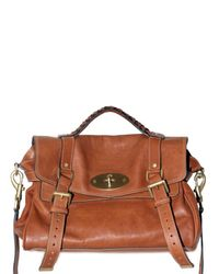 Mulberry | Brown Alexa Leather Bag | Lyst