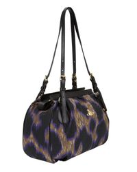 Vivienne Westwood - Purple Leopard Shoulder Bag - Lyst