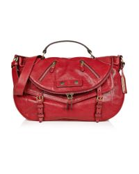 Alexander McQueen | Red Medium Faithful Satchel | Lyst