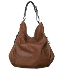 Givenchy | Brown Soft Matt Nappa Eden Large Hobo | Lyst