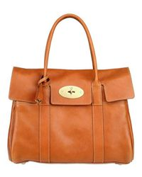 Mulberry | Brown Bayswater Top Handle | Lyst