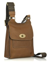 Mulberry - Brown Antony Leather Cross-body Bag - Lyst