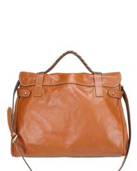 Mulberry - Brown Oversized Alexa Tote Bag - Lyst