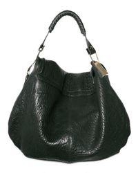 Pauric Sweeney | Black Grainy Lambskin Flap Shoulder Bag | Lyst