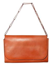 Ragazze Ornamentali | Orange Nappa Boudoir Contemporain Shoulder Bag | Lyst