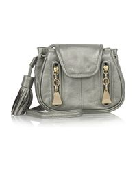See By Chloé | Metallic Cherry Mini Slouchy Leather Bag | Lyst
