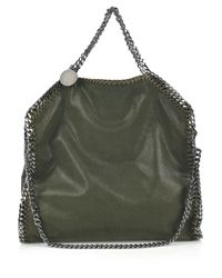 Stella McCartney | Green Falabella Small Chain-trimmed Bag | Lyst