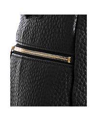 Céline - Black Pebbled Leather Large Convertible Hobo - Lyst