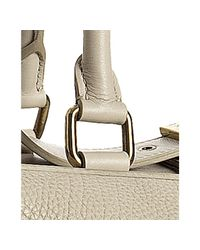 Céline - White Cream Pebbled Leather Large Convertible Hobo - Lyst