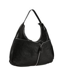 Fendi | Black City Leather Hobo Bag | Lyst